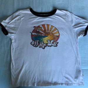 Sunset vans T-shirt